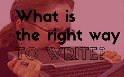 What's the right way to write?