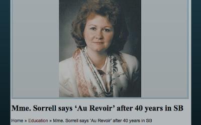 "South Burlington, VT: Mme. Sorrell Says ""Au Revoir"" After 40 years in South Burlington"