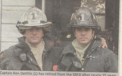 South Burlington Vermont Staff Reporter: Fire Captain Ken Dattilio Retires after 35 years of Dedicated Service