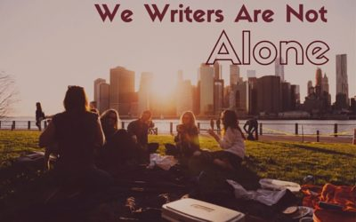 We writers are not alone