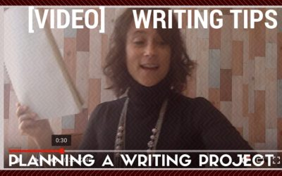 How to plan a writing project
