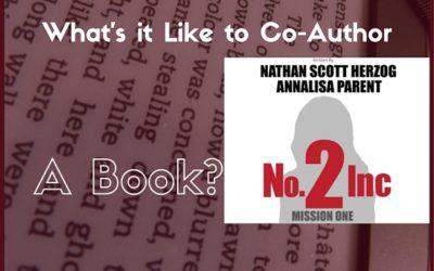 What's it like to co-author a book?