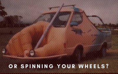 WRITING TO PUBLISH or SPINNING YOUR WHEELS?
