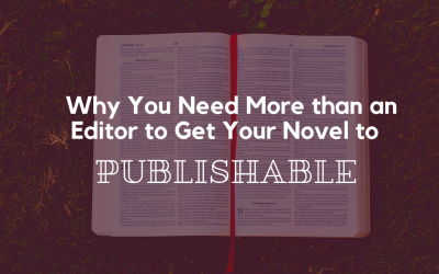 Why You Need More than an Editor to Get Your Novel to Publishable