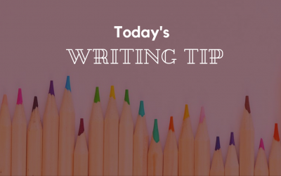 Today's Writing Tip: How to Get the Writing DONE