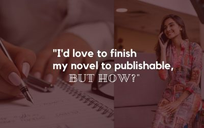 """I'd love to finish my novel to publishable, but how?"""